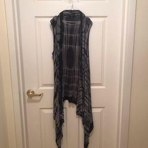 Tops - Tie dye sleeveless vest